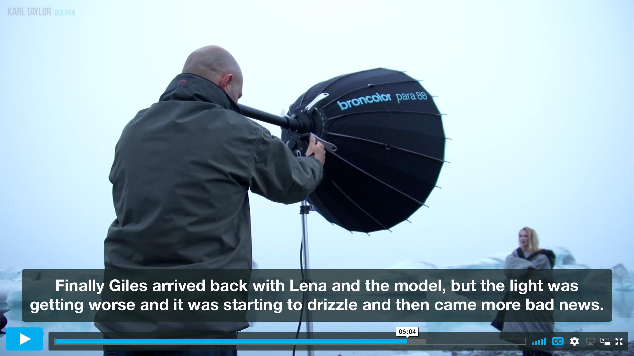 The challenges of shooting fashion on location