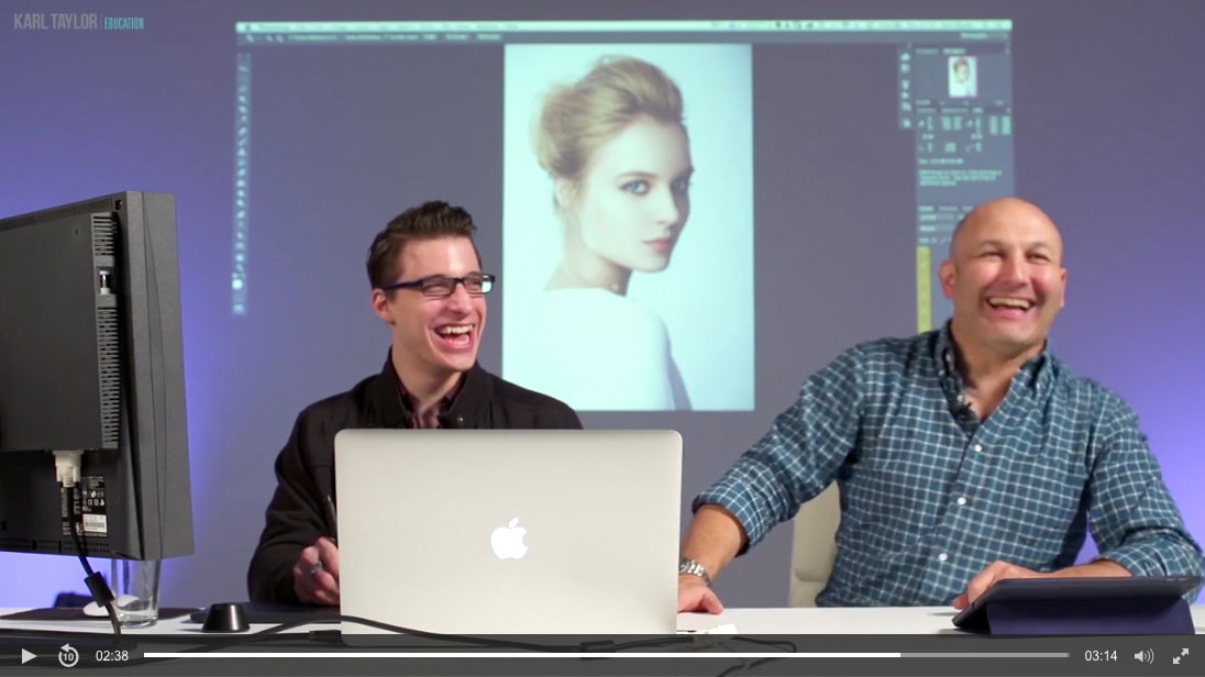 Advanced Photoshop for Photographers course: The outtakes