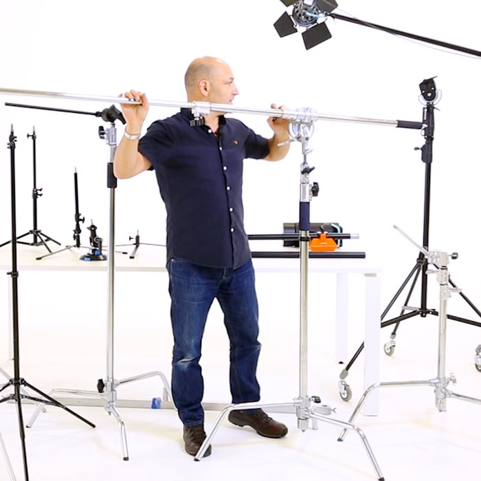 Lighting stands and supports