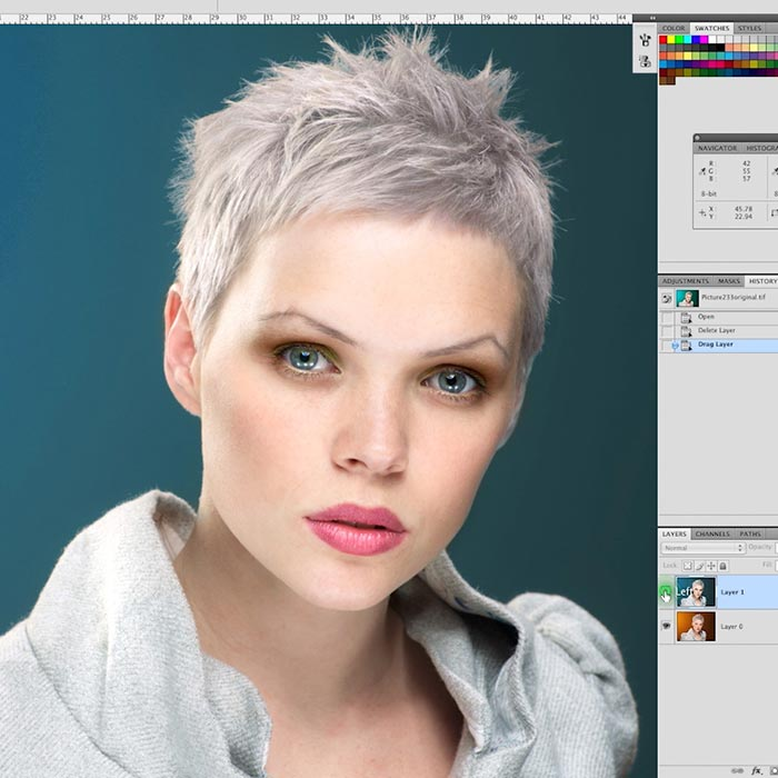 Photoshop retouching with CS4/CS5