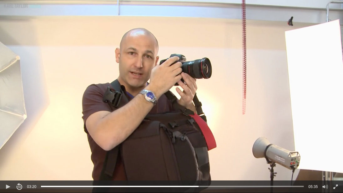 Choosing camera bags and straps