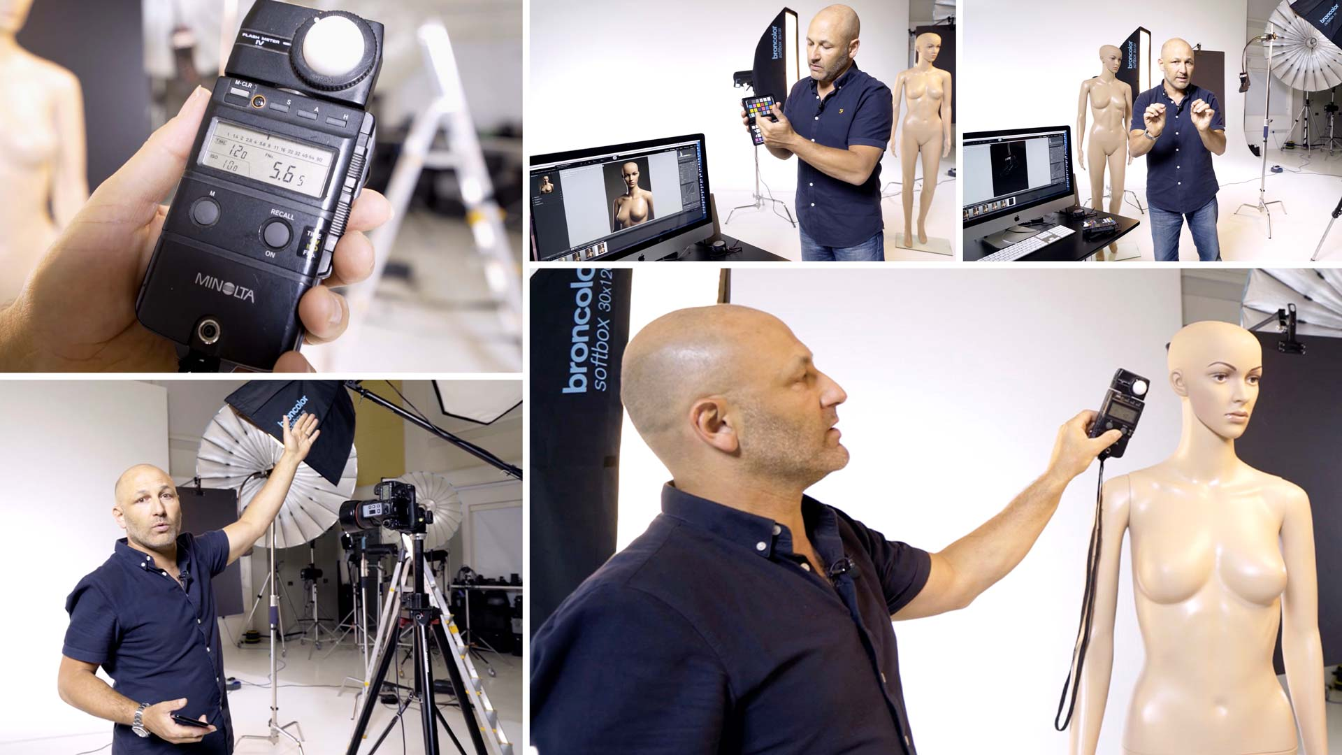 Measuring light and achieving the correct exposure