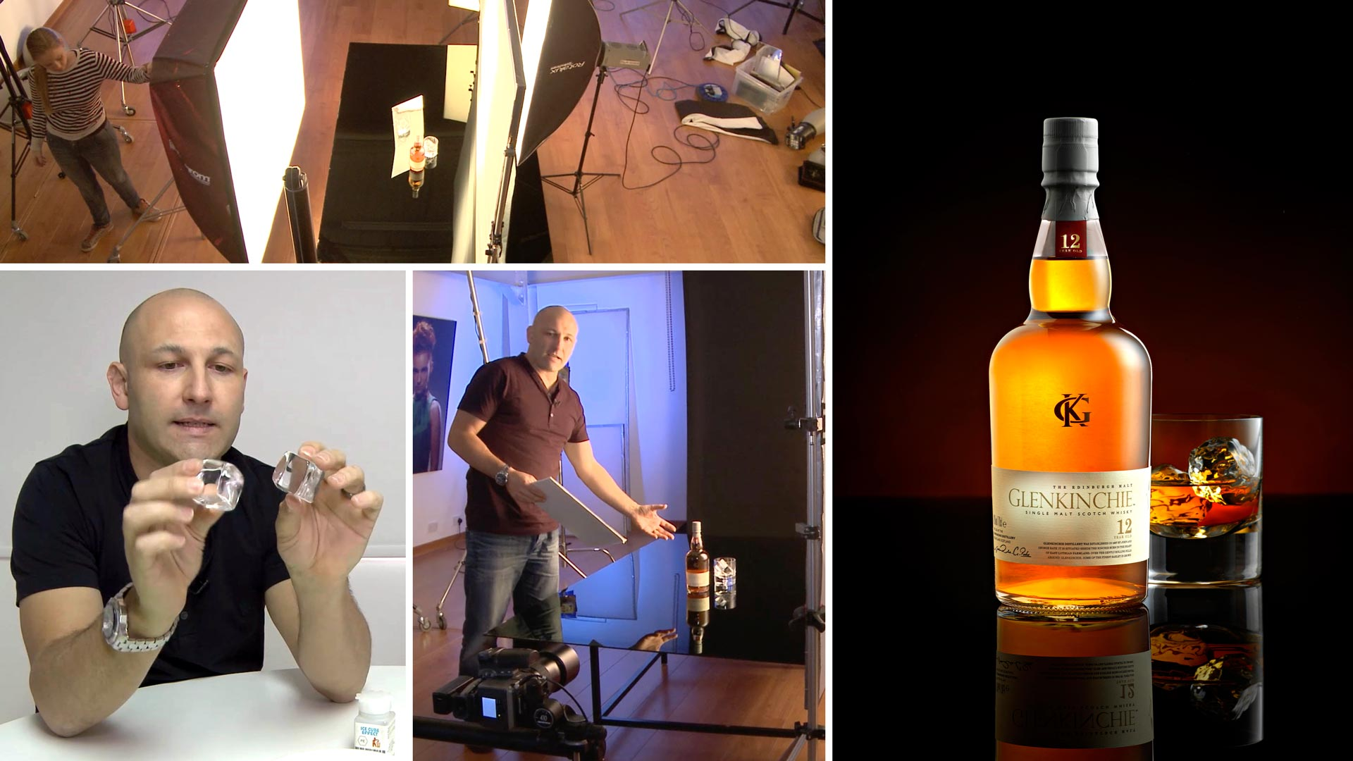 Whisky product shoot