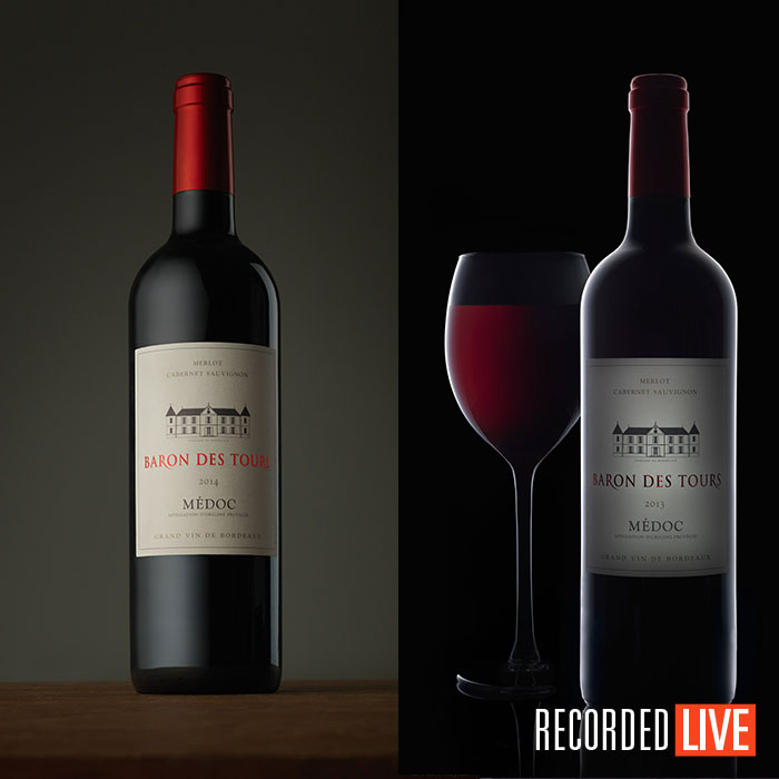 Wine photography live show