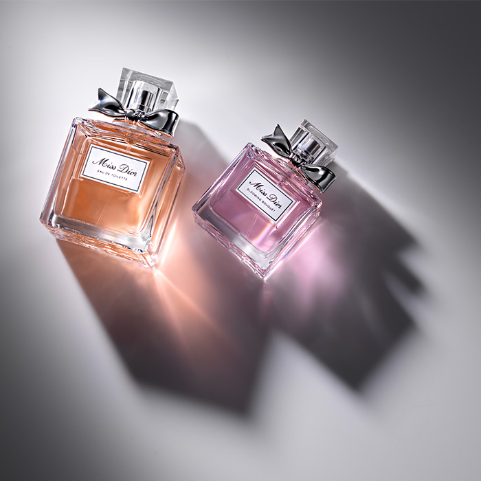 Dior perfume product photography