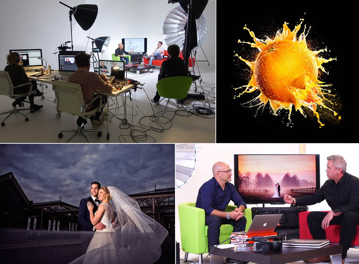 Wedding and advertising photography live show
