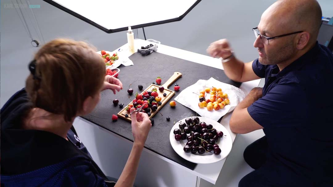 Being a food stylist is part of the job of successful food photography
