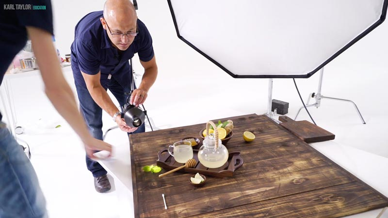 Perfect Food photography lighting is critical