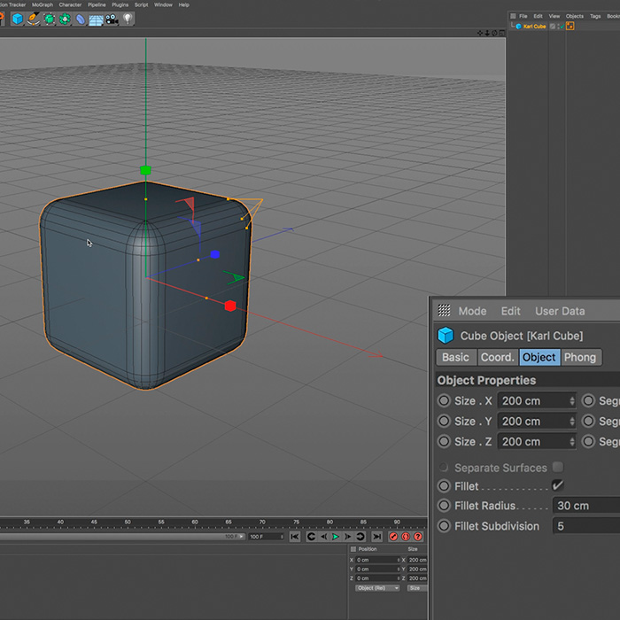 Cinema 4D Interface – Part 2