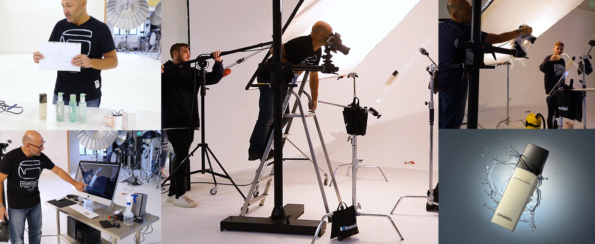 Commercial Photography Workflow