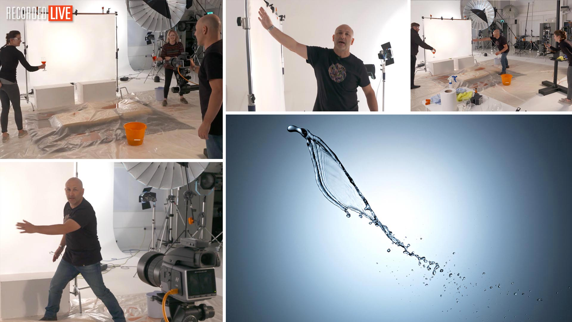 Photographing Liquid Art and Motion