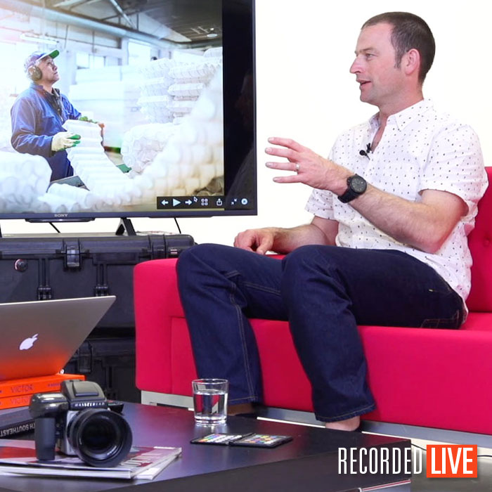 Commercial photographer, Alex Wallace photography talk.
