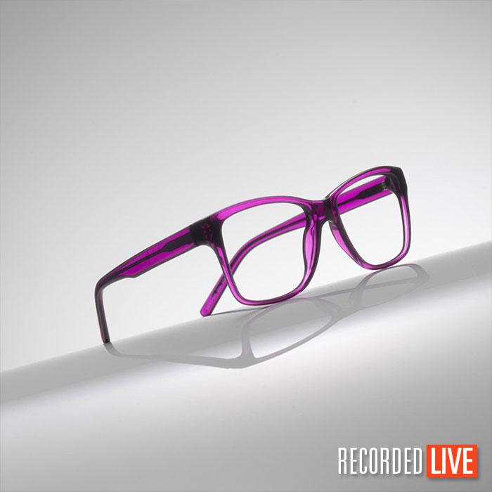 Glasses product photography