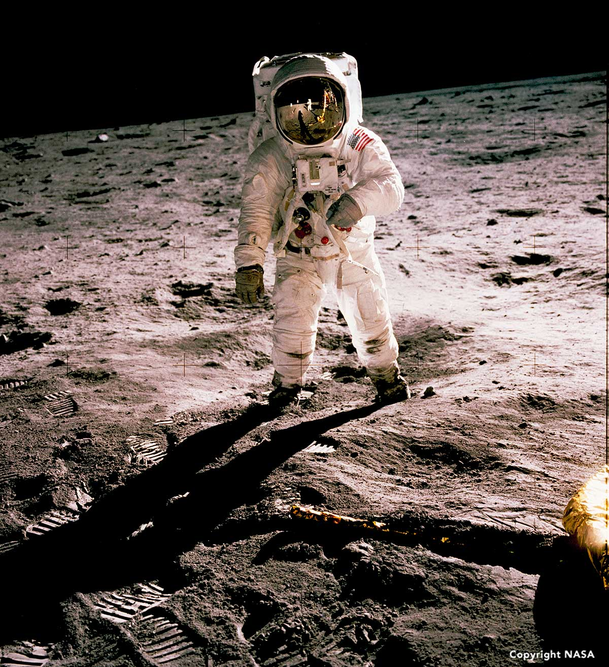 Buzz Aldrin, Apollo moon landings