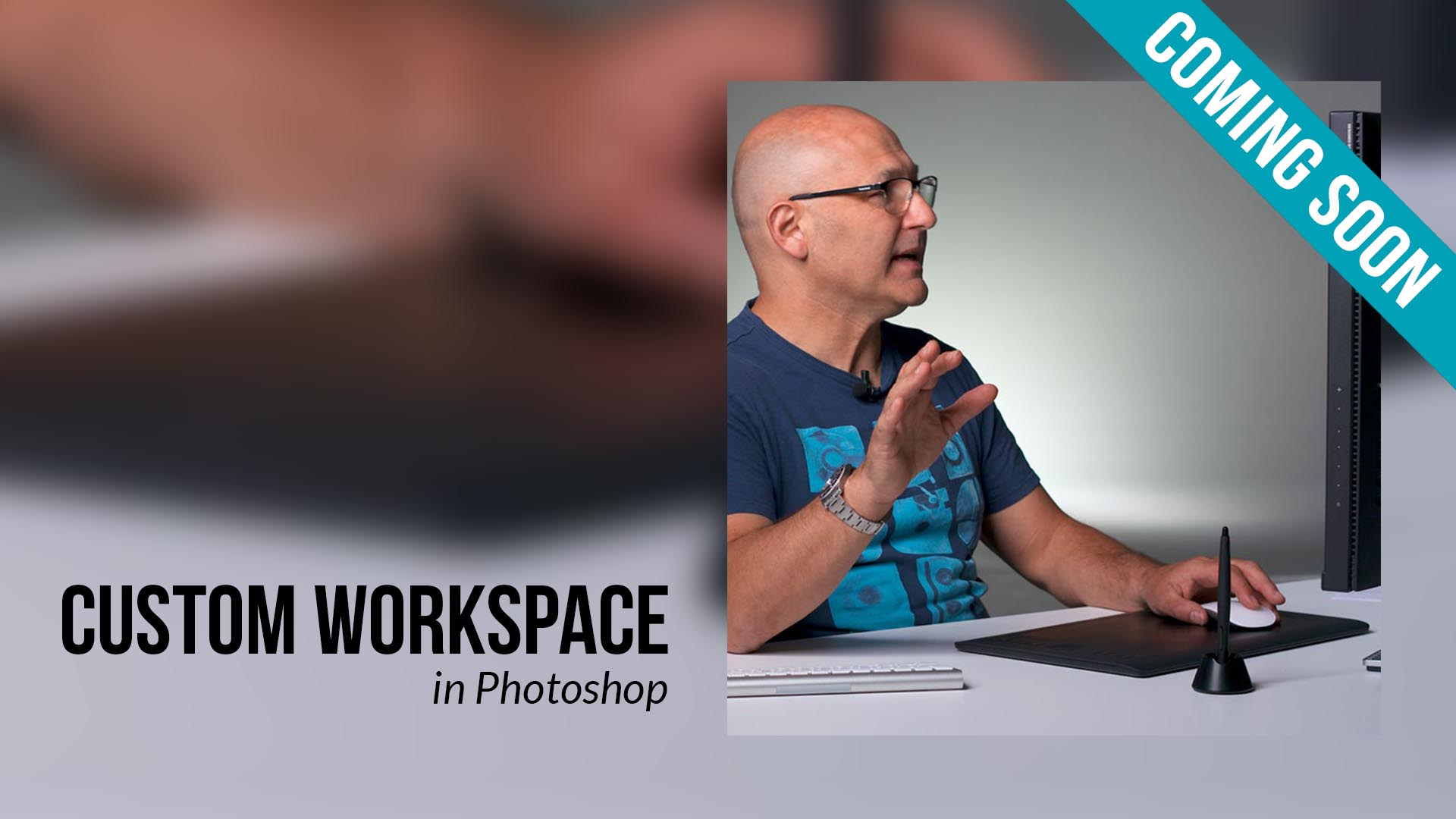 How to create a custom workspace in Photoshop
