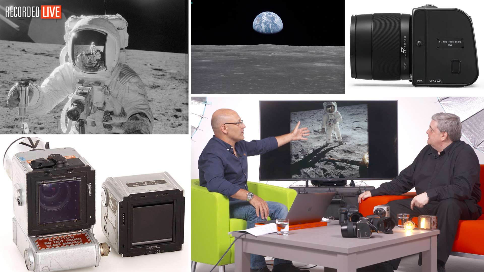 Interview With Hasselblad Expert Chris Cooze – Hasselblad On The Moon