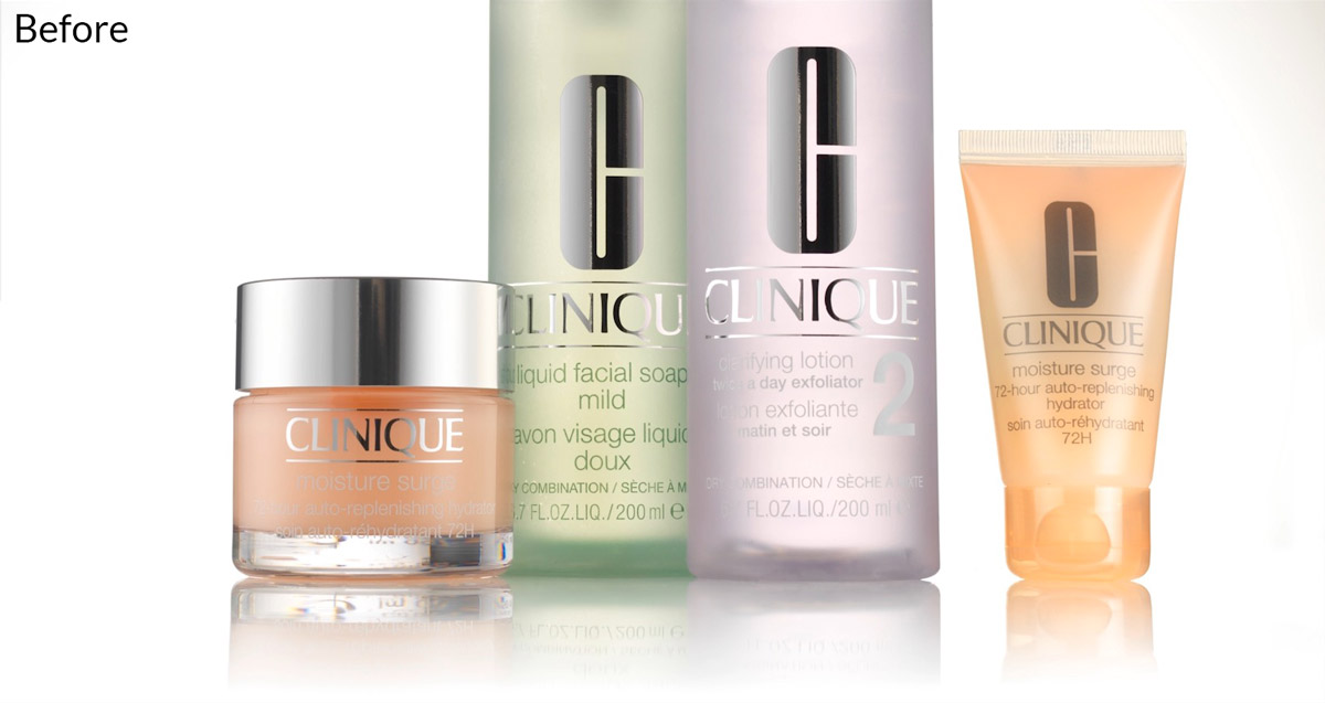 Clinique post production example