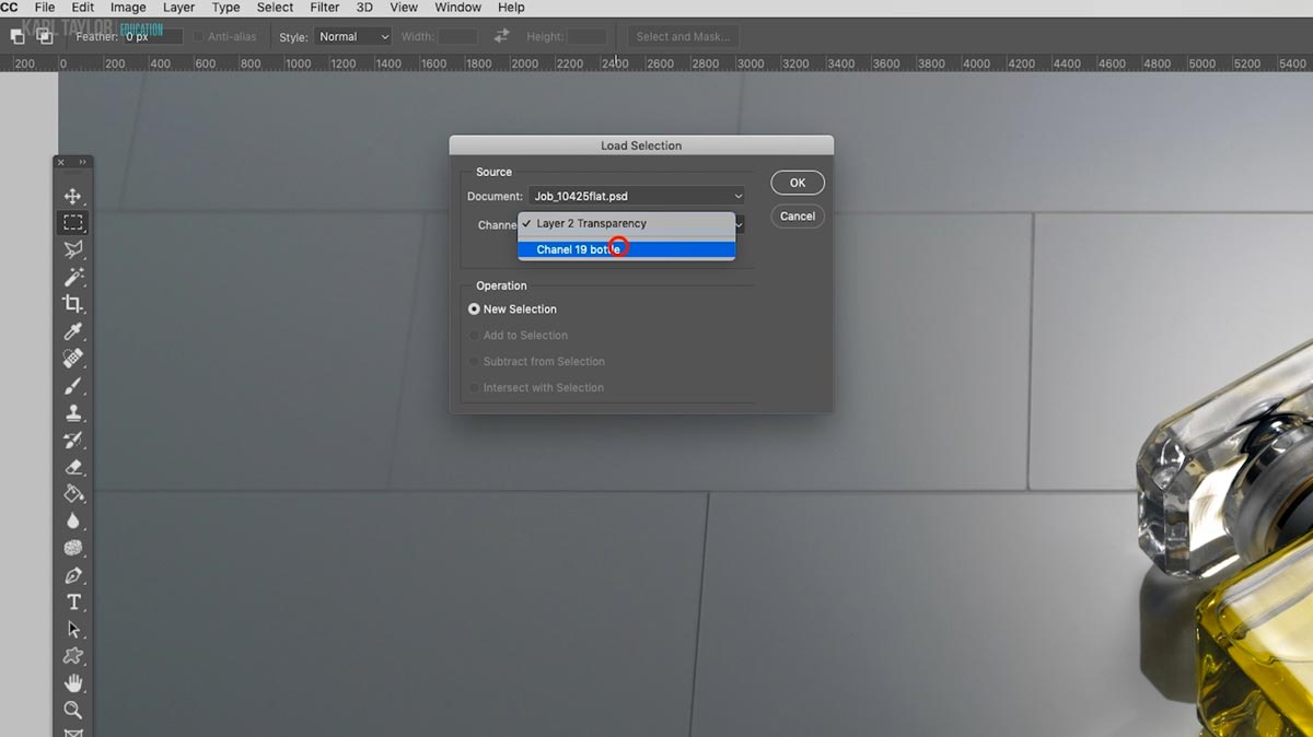 Save Photoshop selections