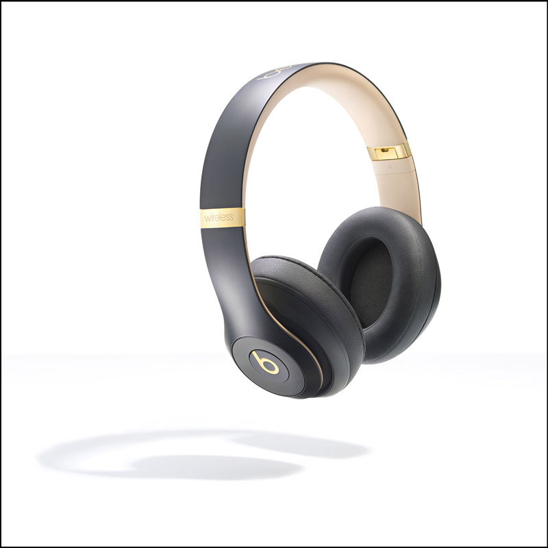 Beats headphones on a white background