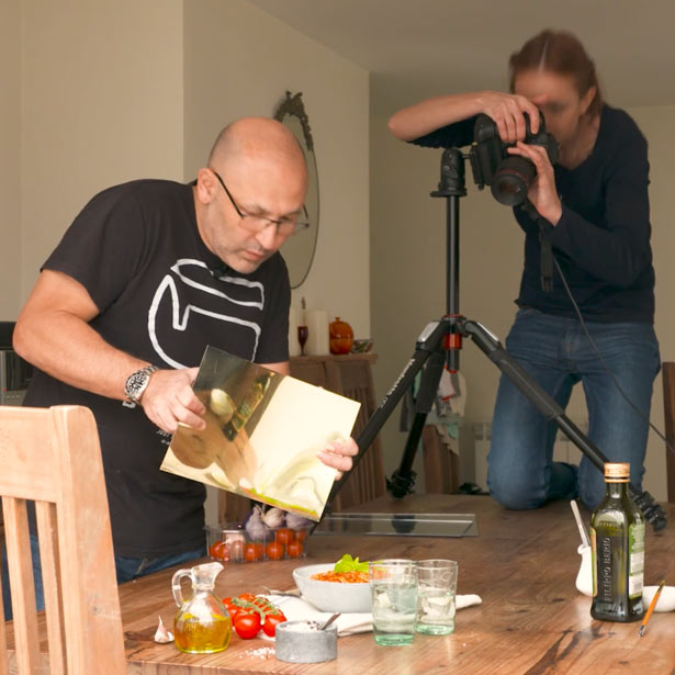 Natural light food photography classes