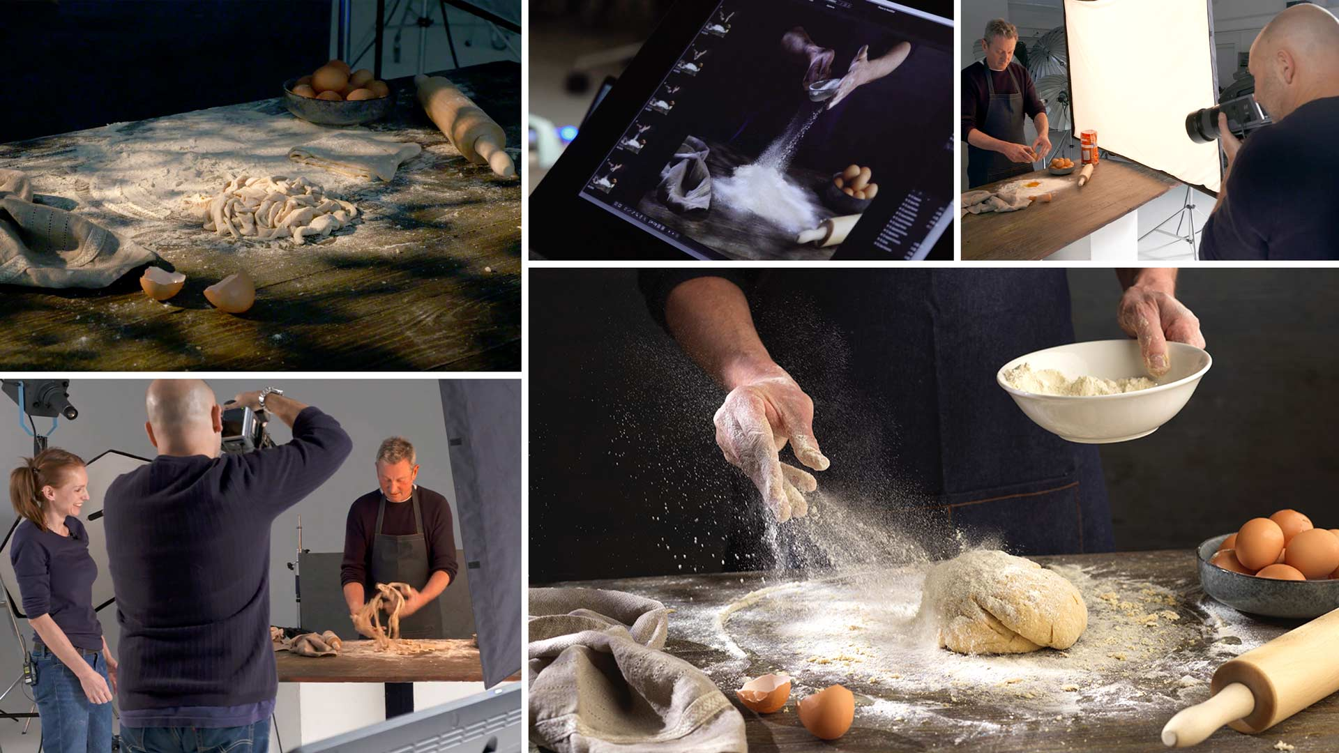 Editorial Food Photography – Making Pasta