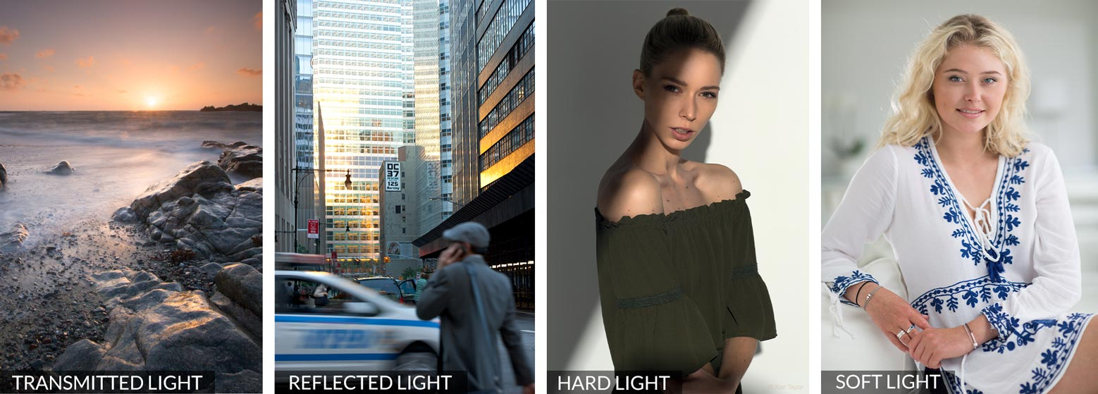 Types of light for photography