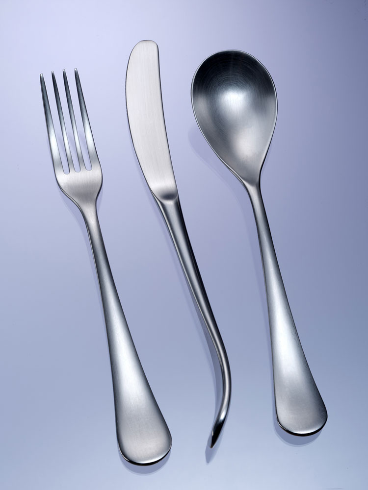 An image of cutlery by Andrey Petrov
