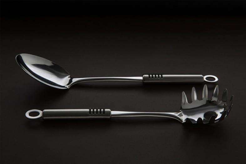 An image of cutlery by Aquilino Paparo