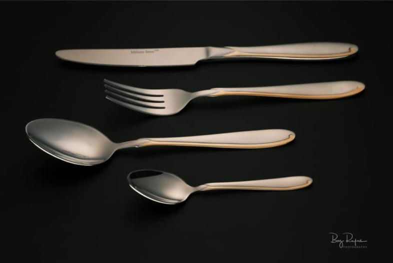 An image of cutlery of Barry Rufus