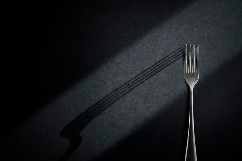 An image of cutlery by Johnny Swanepoel