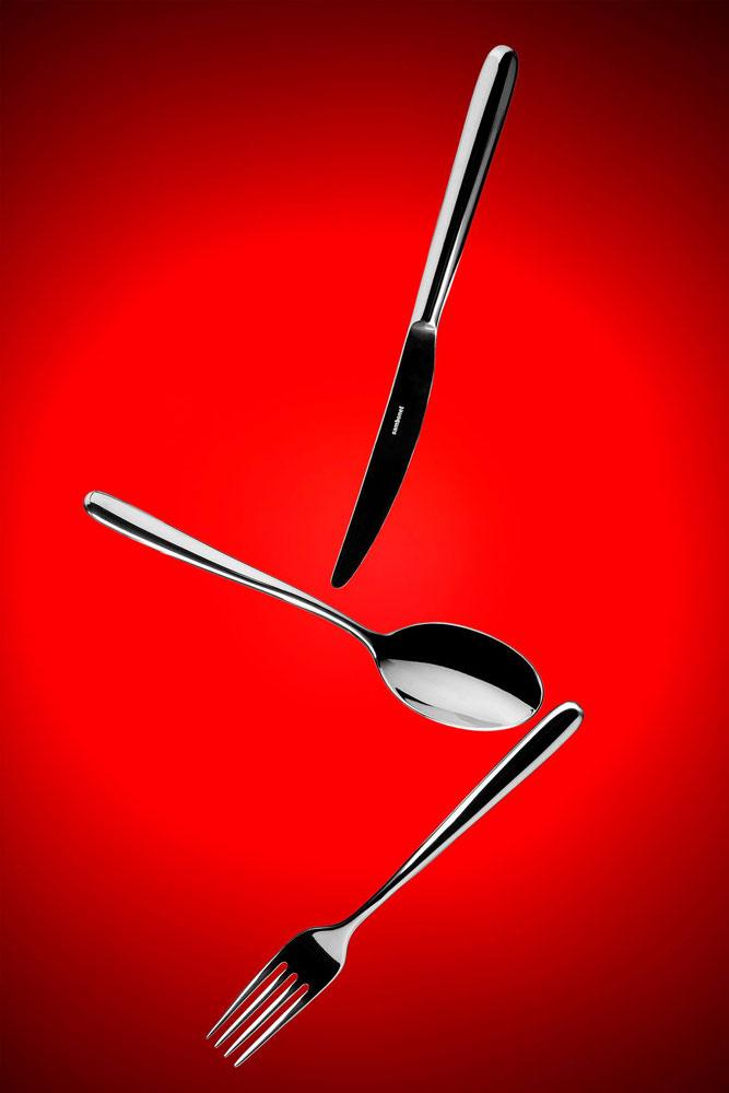 An image of cutlery by Massimo Biava