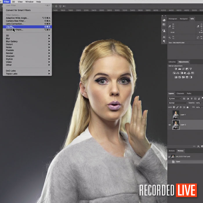 Why & How We Retouch Images