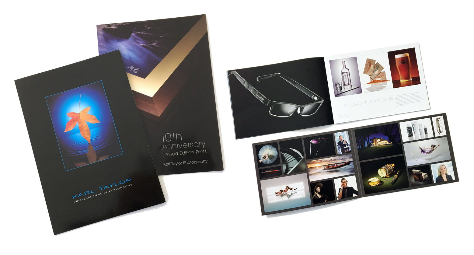 Marketing material for photographers