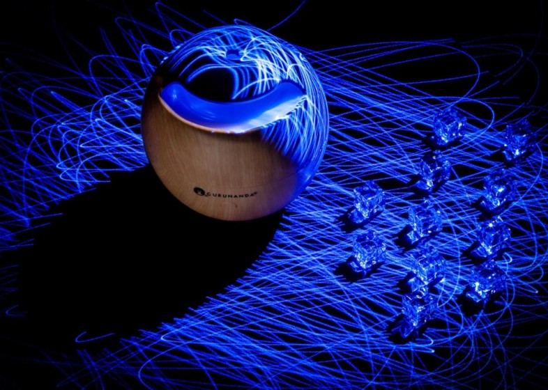 A photo of light painting by Michele Anne Hamilton