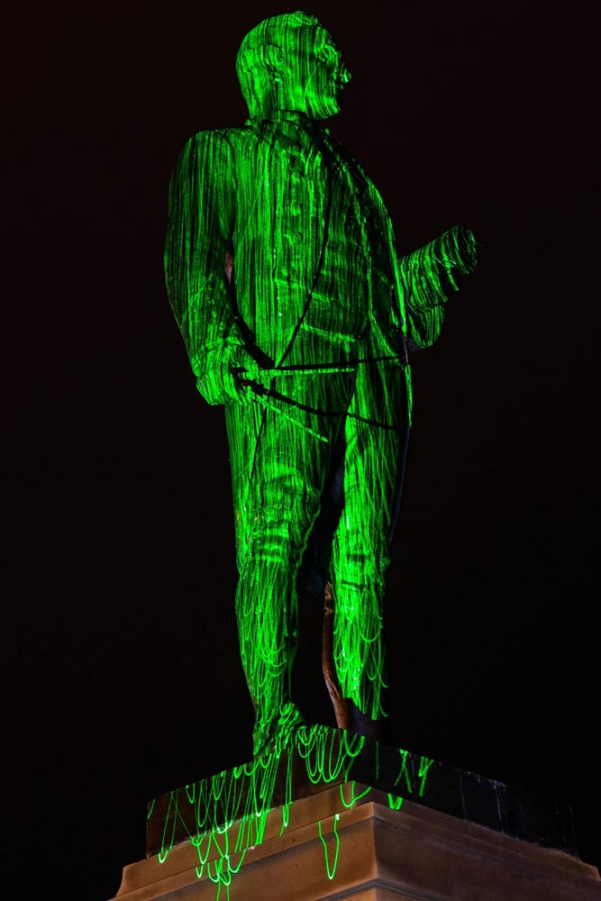 A photo of light painting by Richard Randle