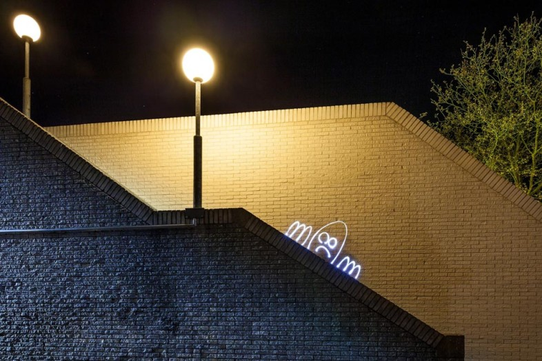 A photo of light painting by Theo Fama