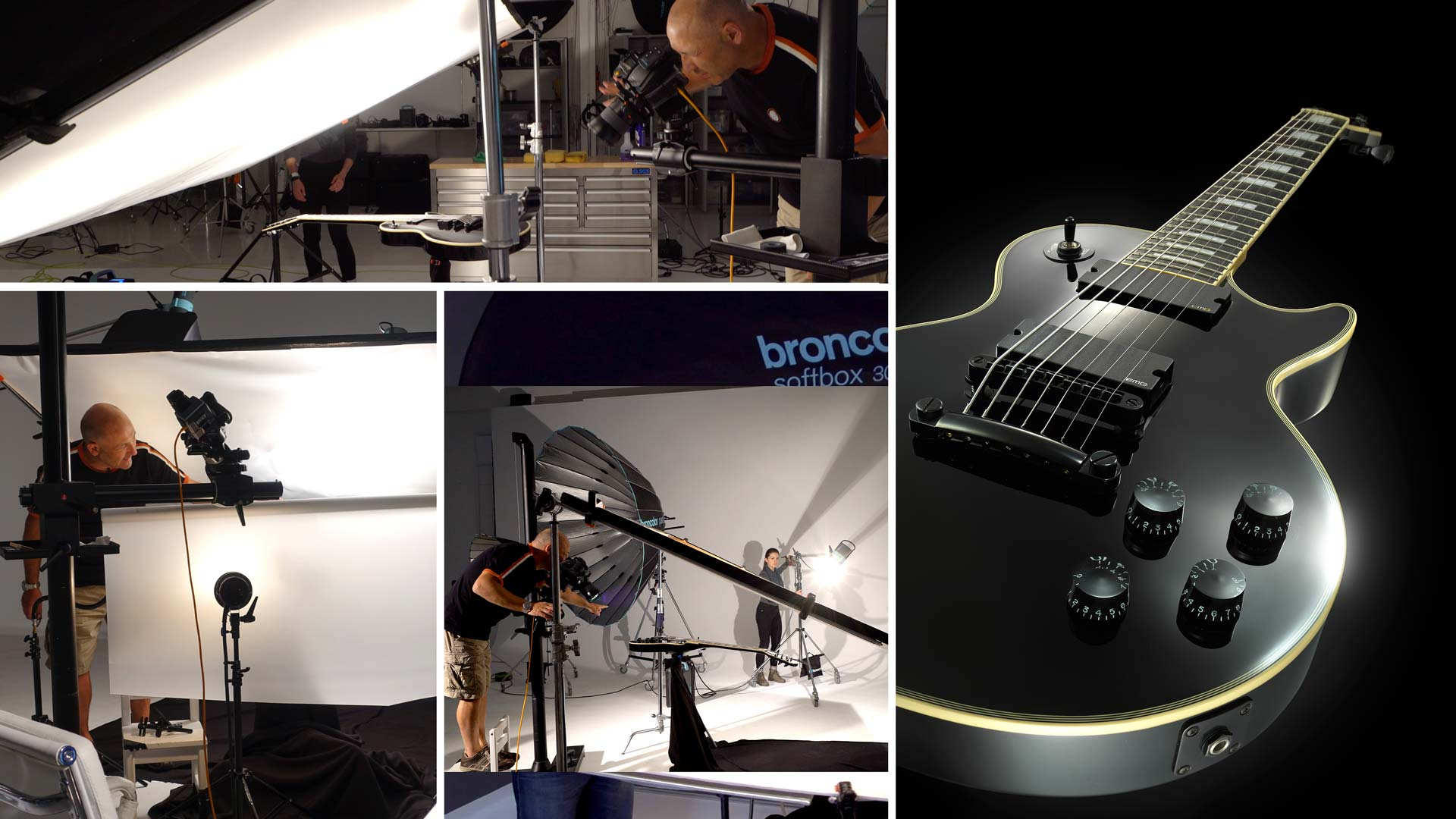 Electric Guitar Product Photography
