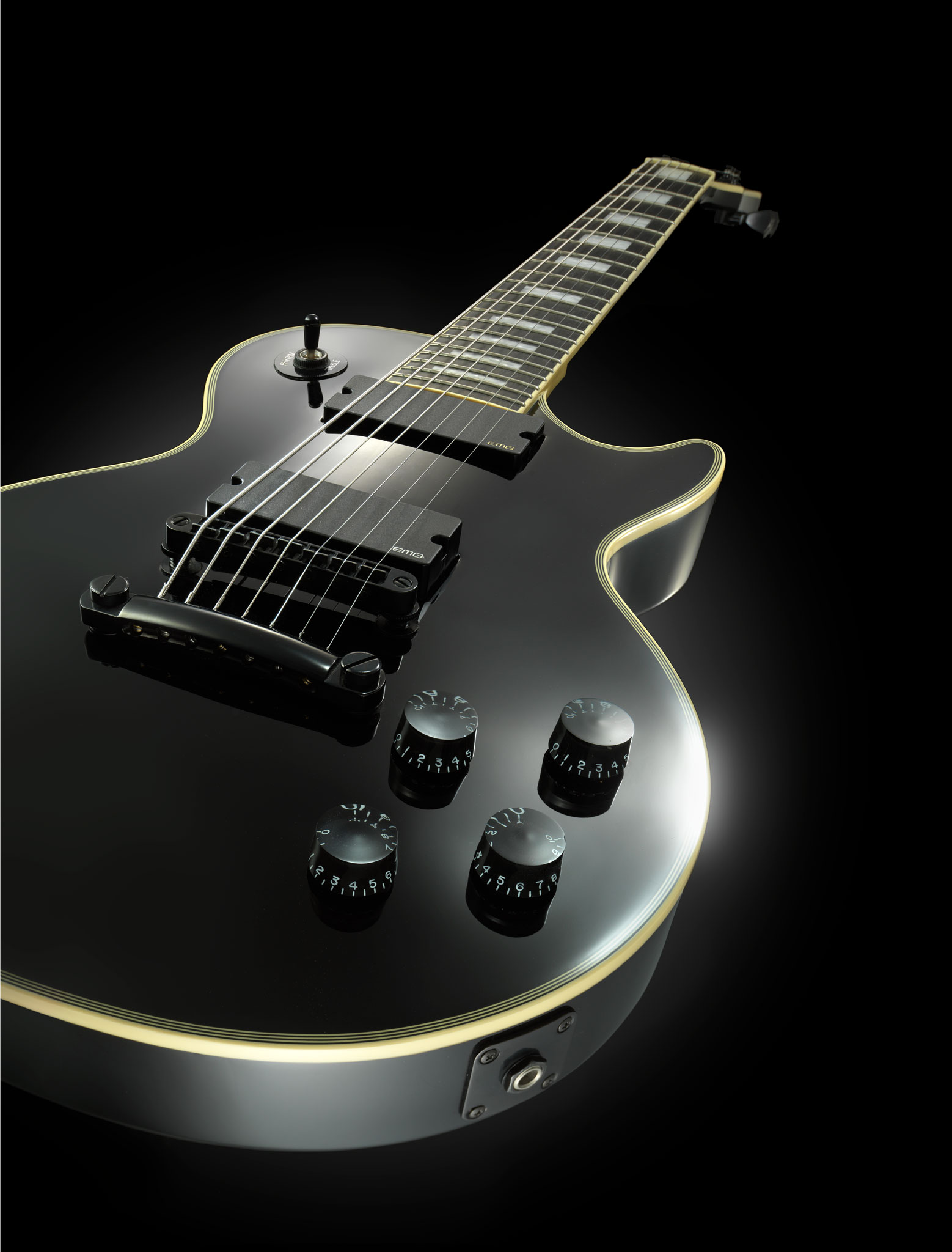 Guitar product photography