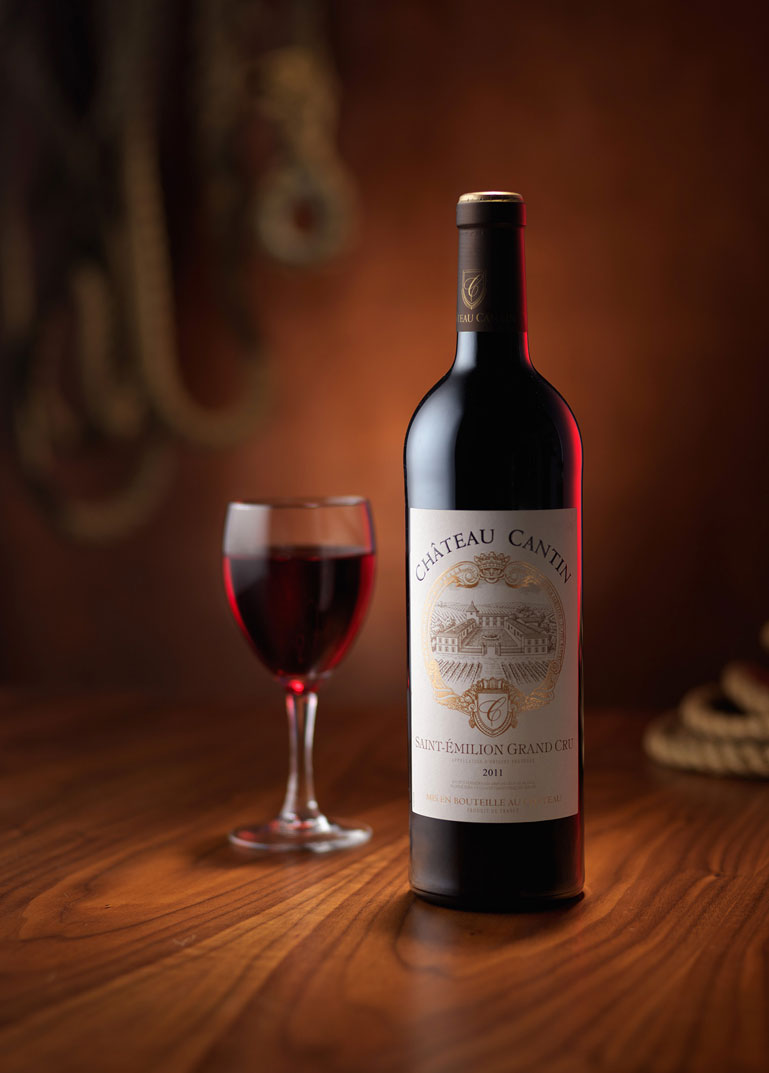 Wine bottle product photography by Karl Taylor