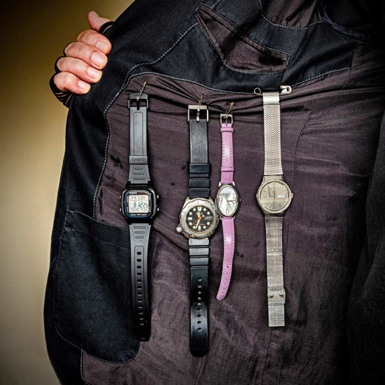 An image of a watch by Steve Molnar