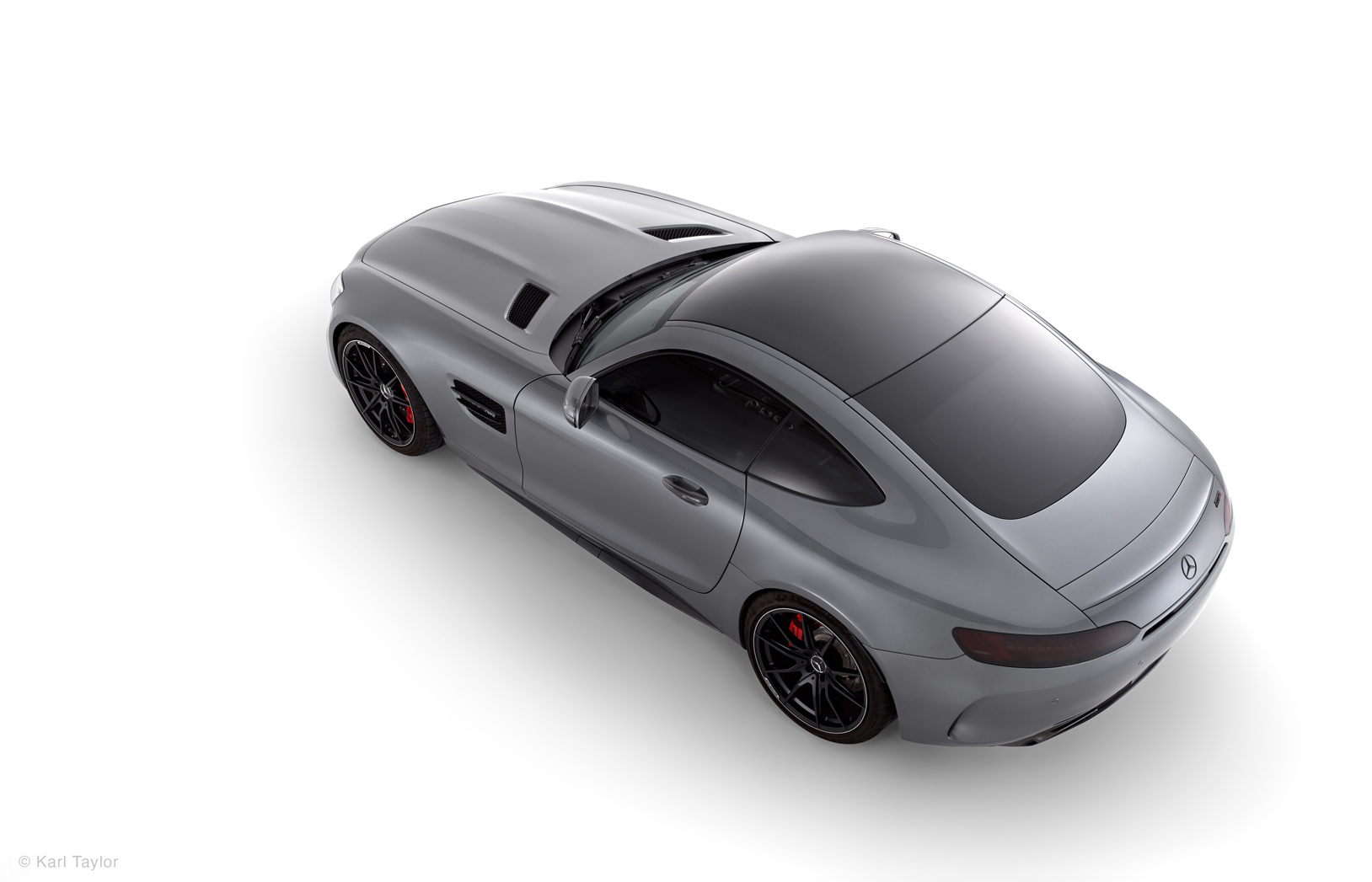 Mercedes AMG GT top view