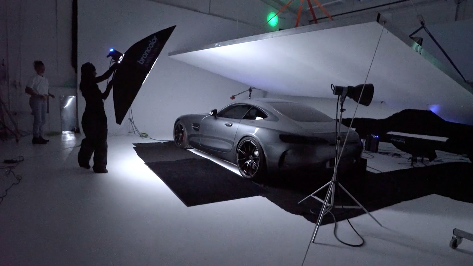 Car photography lighting