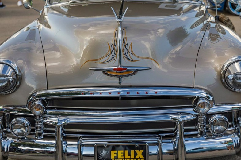 An image of car details by Ron Kovach