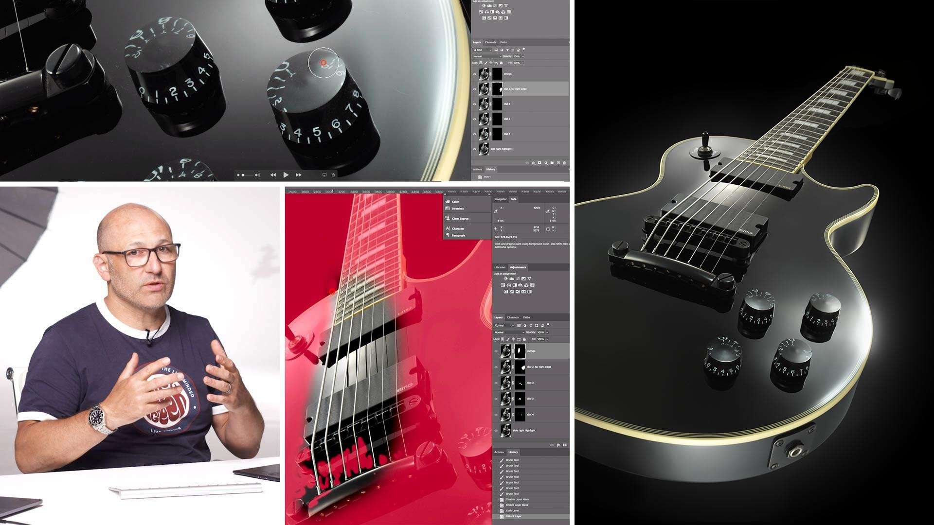 Electric Guitar Post-Production