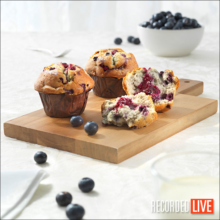 Muffins photoshoot (Brief Assignment 3)