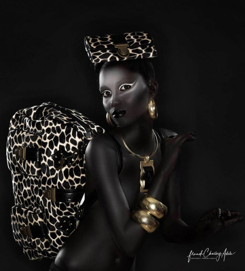 An image of black on black by Gary Jackson