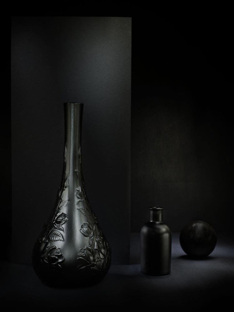 An image of black on black by Jules Holbeche Maund