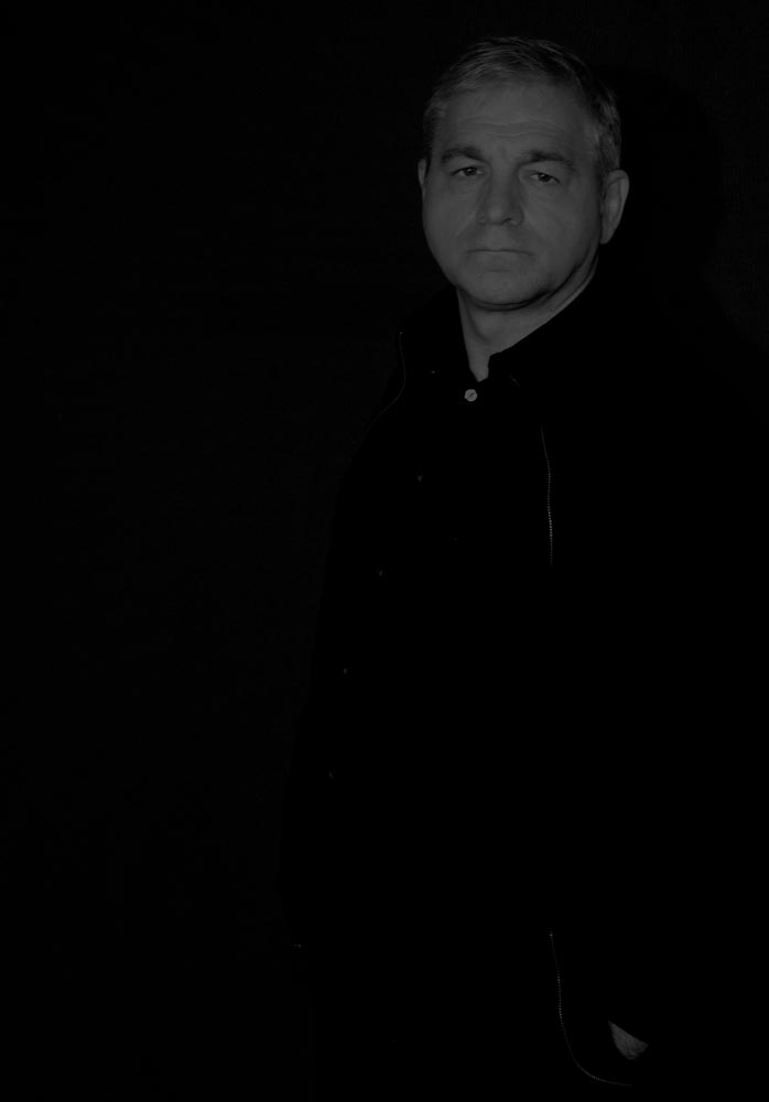 An image of black on black by Rob Toscano