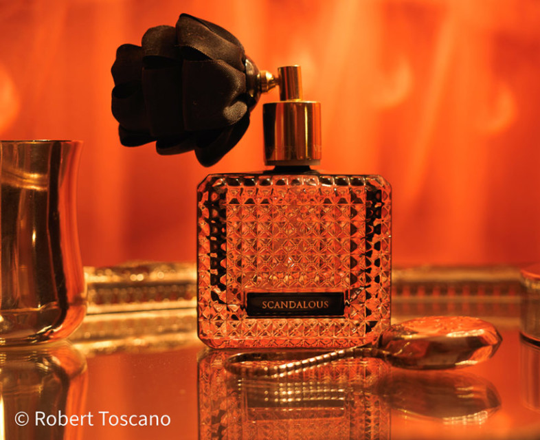 An image of a perfume bottle by Rob Toscano
