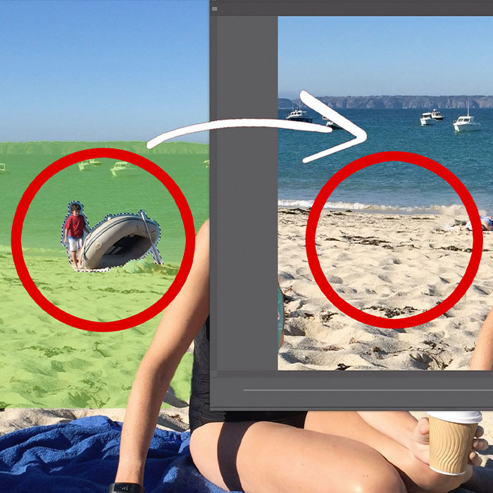 Removing Objects Using Content-Aware Fill In Photoshop